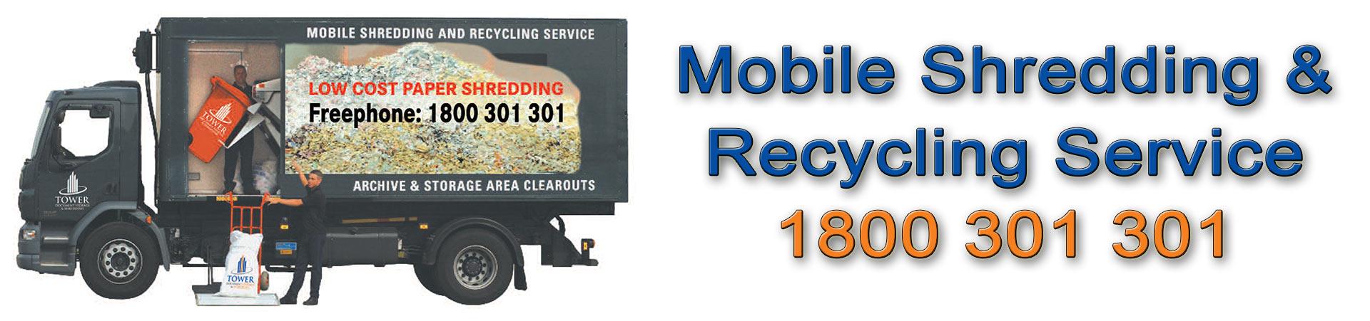 Mobile Onsite Shredding and Document Destruction, Sligo
